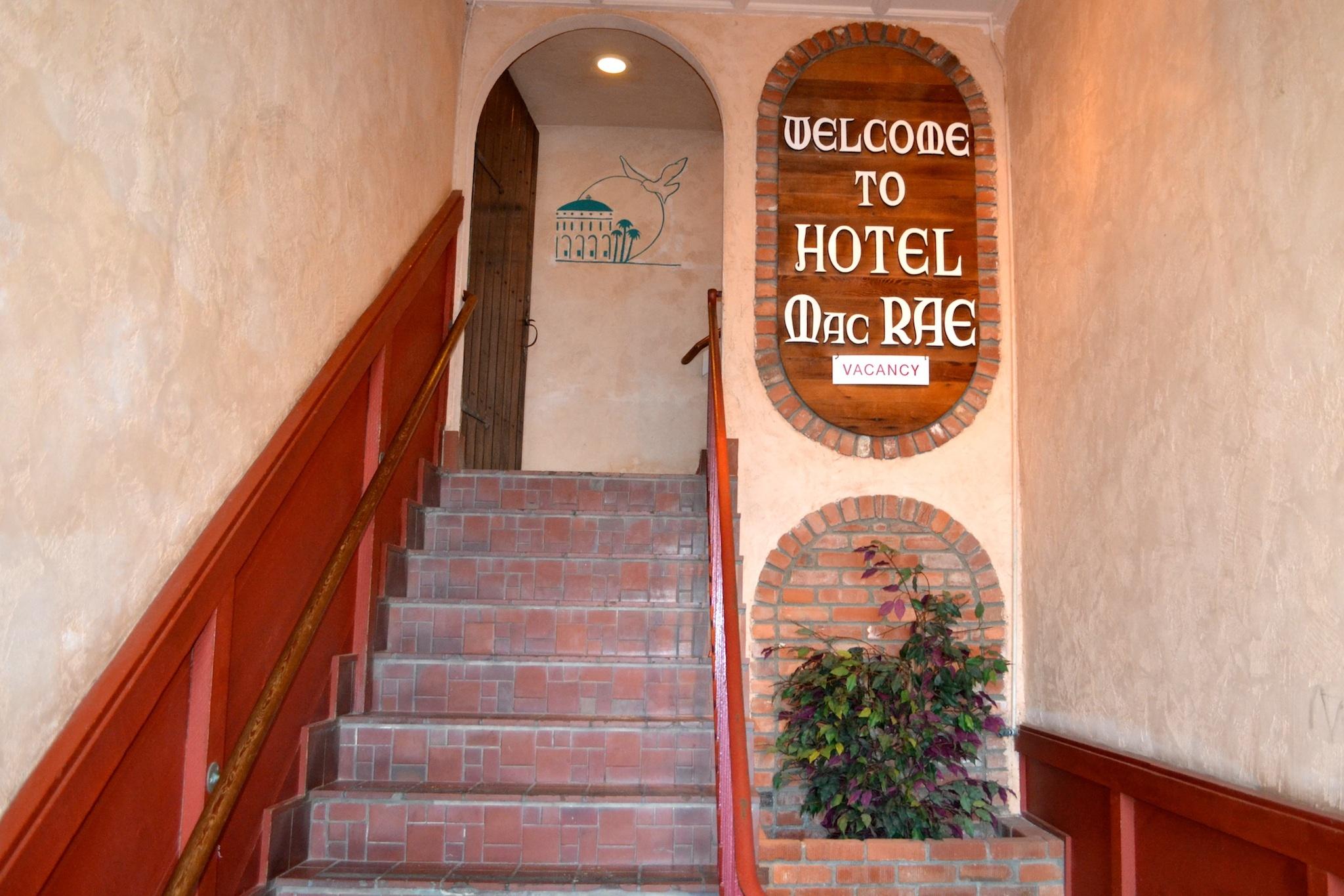 Budget top pick: Hotel Mac Rae