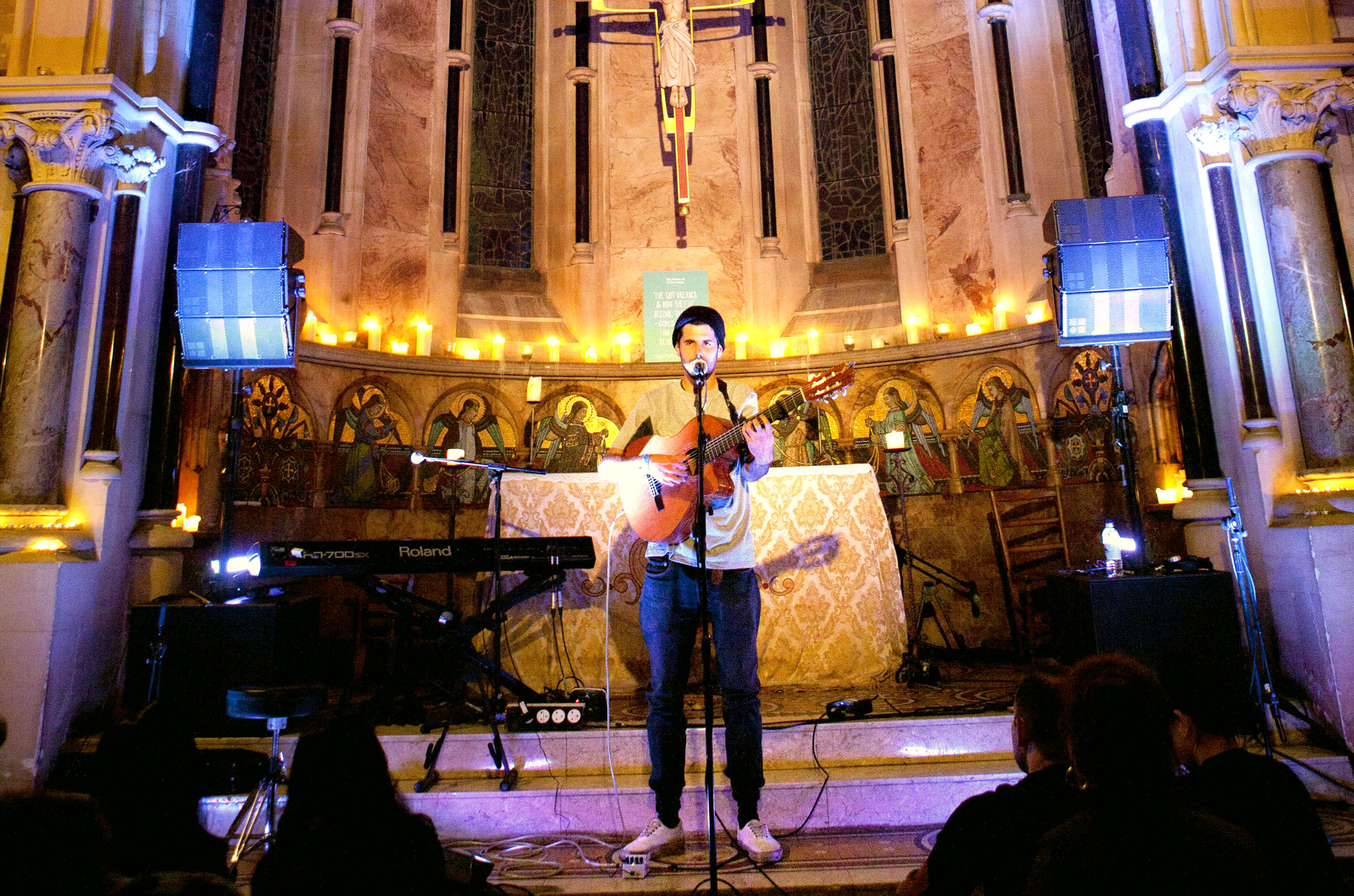 See a gig in the House of St Barnabas' magical chapel