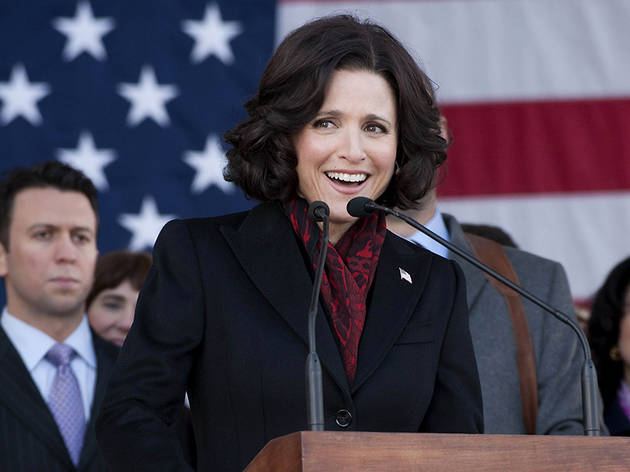 Selina Meyer talks to Britain