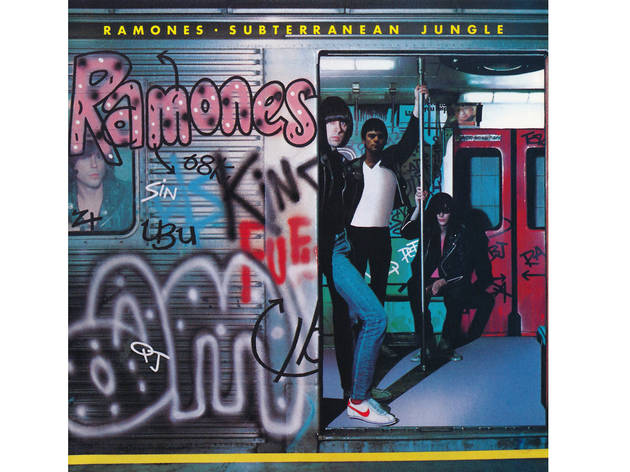 Graffiti makes the Ramones look tougher…maybe?