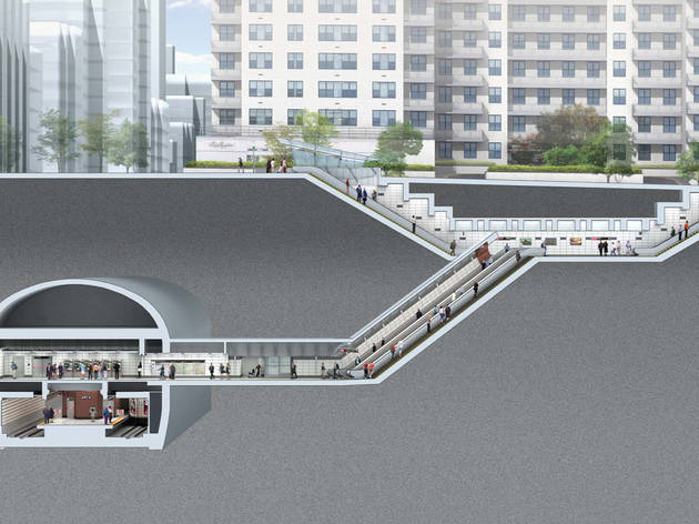 The project: Second Avenue subway
