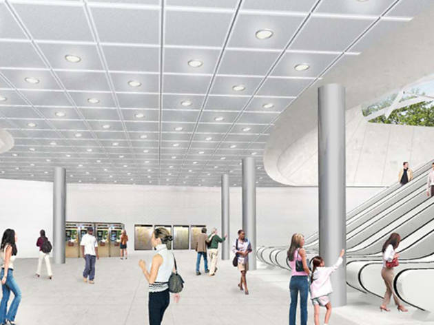 News on NYC subway projects, including the Second Avenue subway