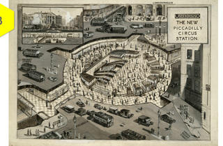 Subterranean ticket halls