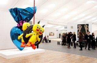 Gagosian, London (© Frieze Art Fair: photograph by Linda Nylind)