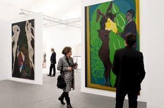 David Zwirner, New York (© Frieze Art Fair: photograph by Linda Nylind)
