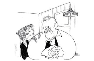 (Photograph: Courtesy The Al Hirschfeld Foundation)