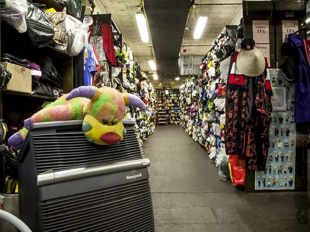 Behind the scenes at TfL's Lost Property Office