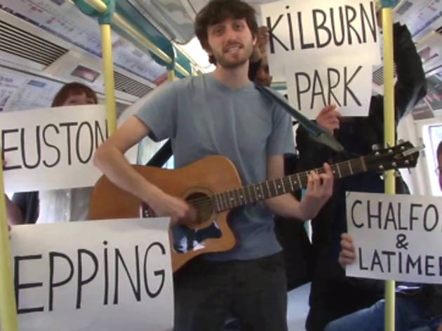 The amazing tube station song
