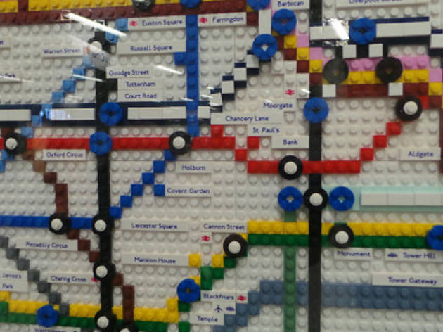 LEGO tube maps coming to a station near you