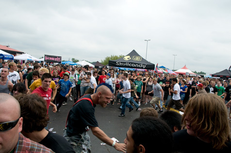 Warped Tour 2010 at First Midwest Bank Amphitheatre, Tinley Park, IL