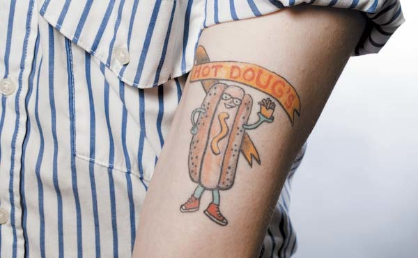 Hot Doug's tattoo | Chicago ink