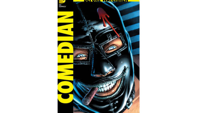 The cover to DC Comics' Before Watchmen: Comedian #1, art by J.G Jones.