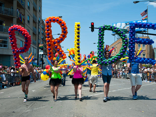 Pride Parade Route