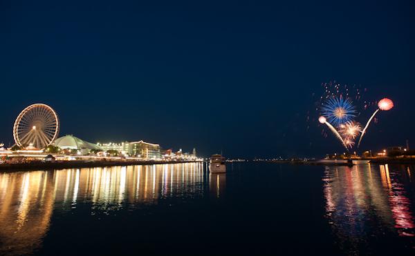 2012: Navy Pier fireworks
