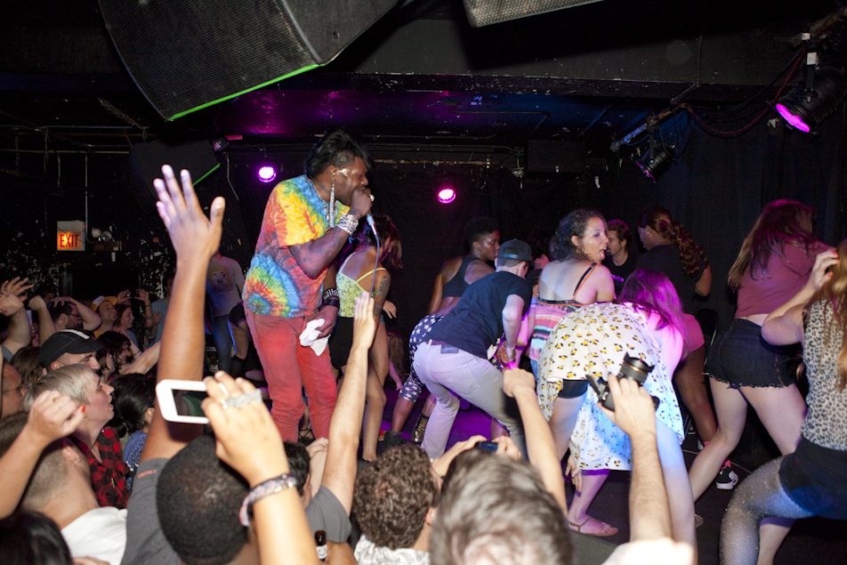 Big Freedia at Empty Bottle NYE 2011 photos