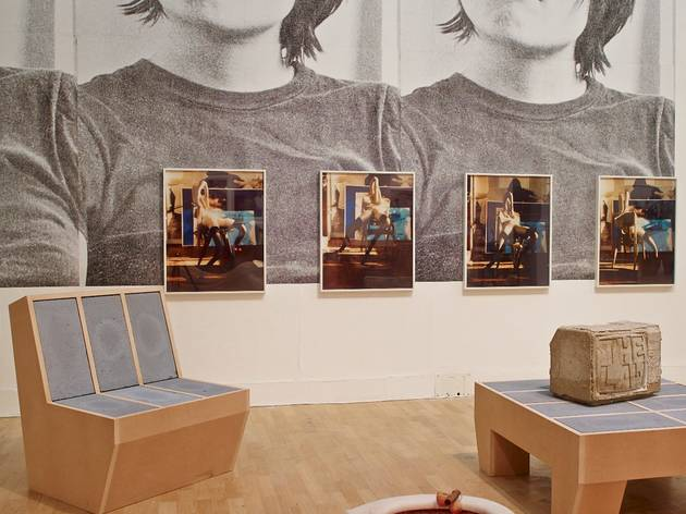 Sarah Lucas (Installation view of Situation at Whitechapel)