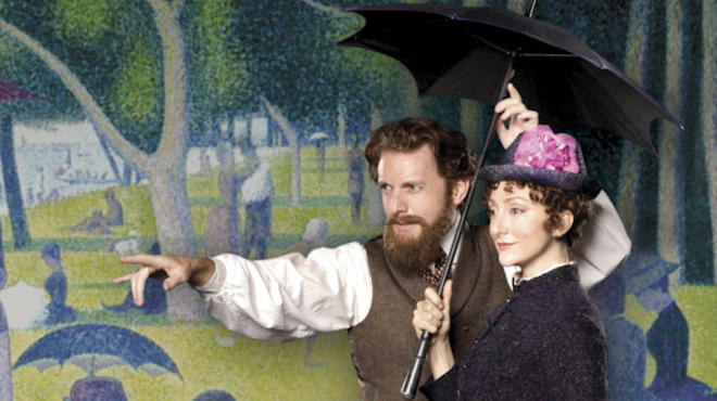Jason Danieley and Carmen Cusack in Sunday in the Park with George at Chicago Shakespeare Theater