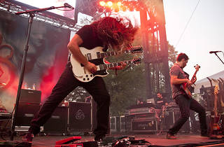 Coheed and Cambria at Riot Fest 2012