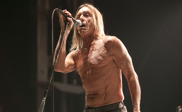Iggy Pop at Riot Fest 2012