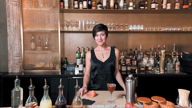 Danielle Pizzutillo is the beverage director at Embeya, Thai Dang's Asian restaurant in the West Loop.