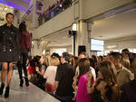 Chicagoans kick off Fashion's Night Out 2012 with a runway show at the 900 Shops.