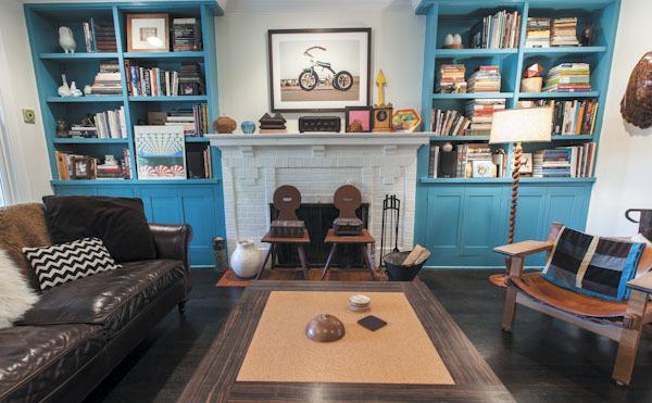 An art-filled Evanston home