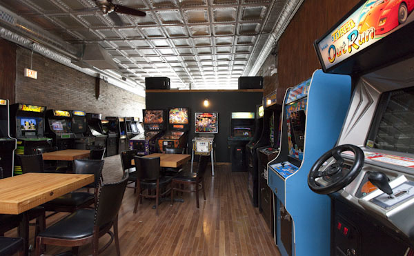 Drink and set high scores at arcade bars