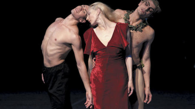 Alexandre Riabko, Anna Polikarpova and Otto Bubenicek in Neumeier's Nijinsky.