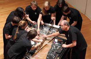 Bowed Piano Ensemble