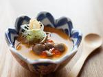 Chilled tofu with caviar at Sumi Robata Bar