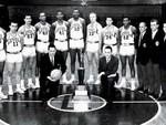 Ramblin' menThe only team from Illinois to win the NCAA Men's  Division Ib-ball tourney was the 1962-63 Ramblers from Loyola  University Chicago. They went into the championship game perceived as  underdogs, despite boasting the best offense in t...