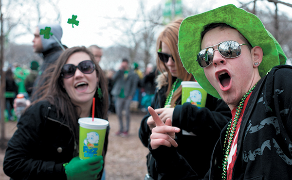 Chicago sobers up St. Patrick's Day