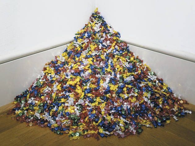 art institute candy sculpture whats up with that - Hard Candy Christmas Meaning