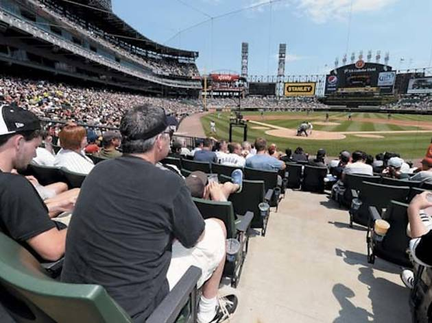 Chicago White Sox baseball at U.S. Cellular Field