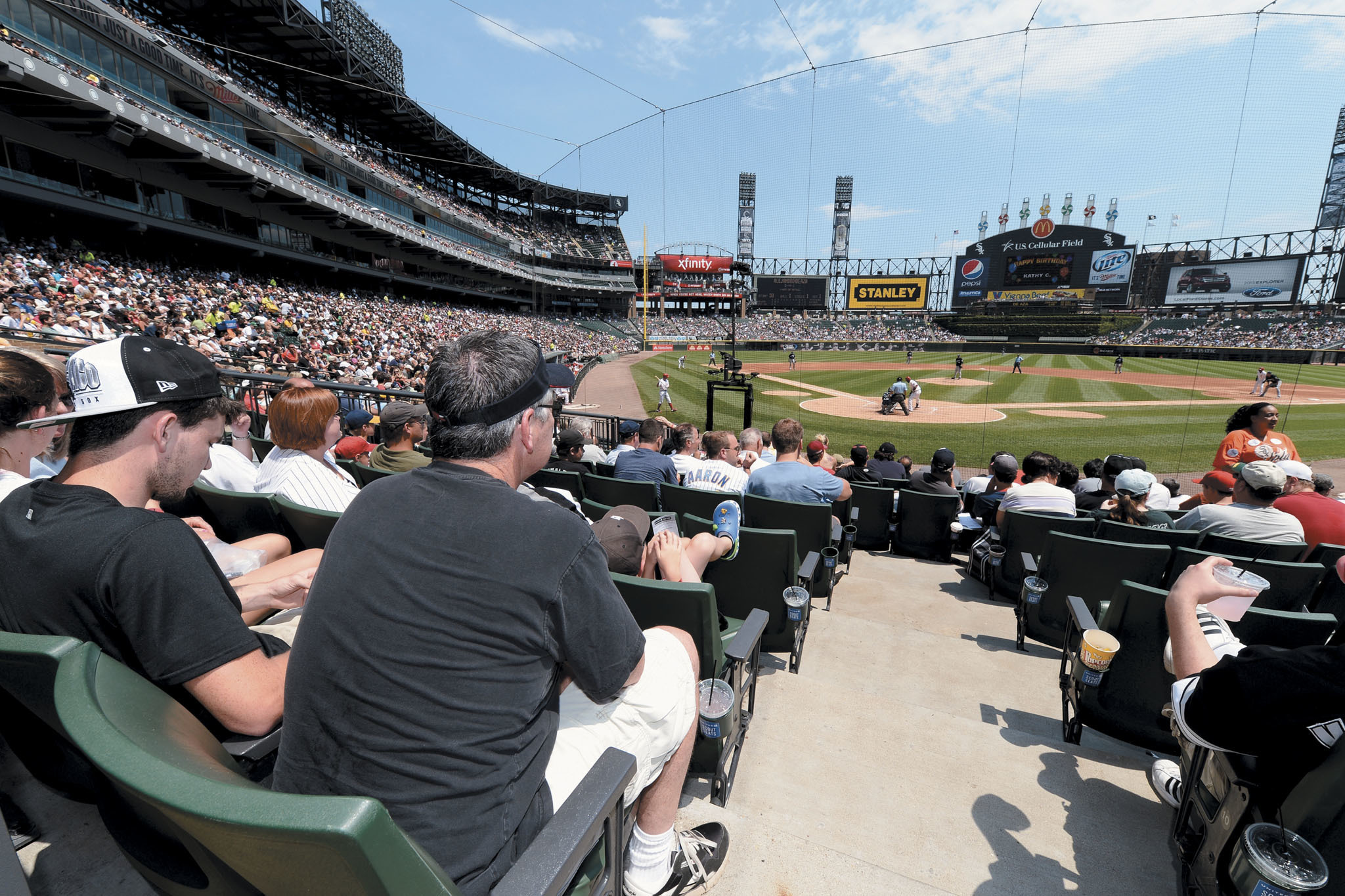 Watch the South Siders play ball at the Cell.