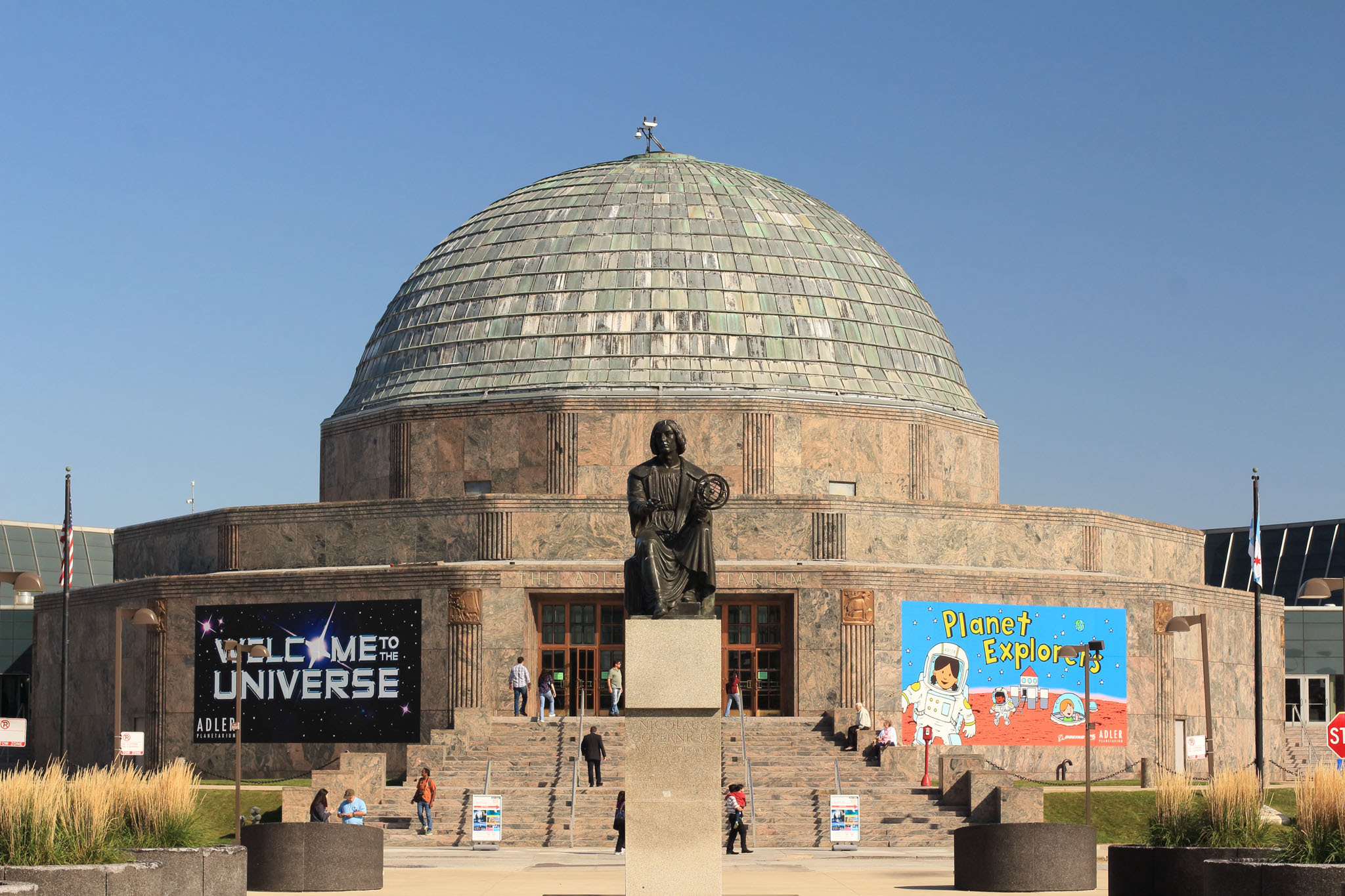 See stars at the Adler Planetarium.