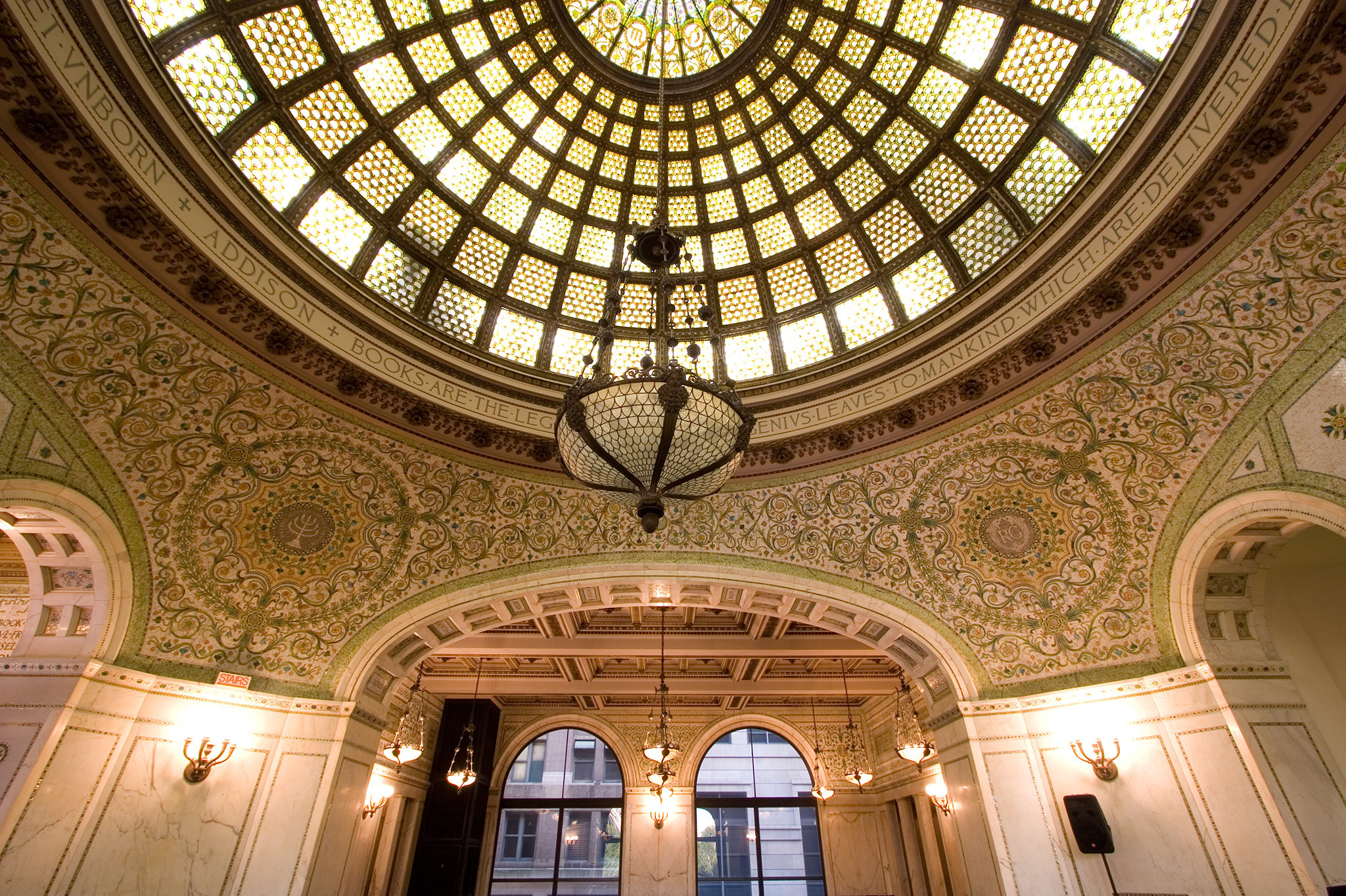 Chicago Cultural Center Tour