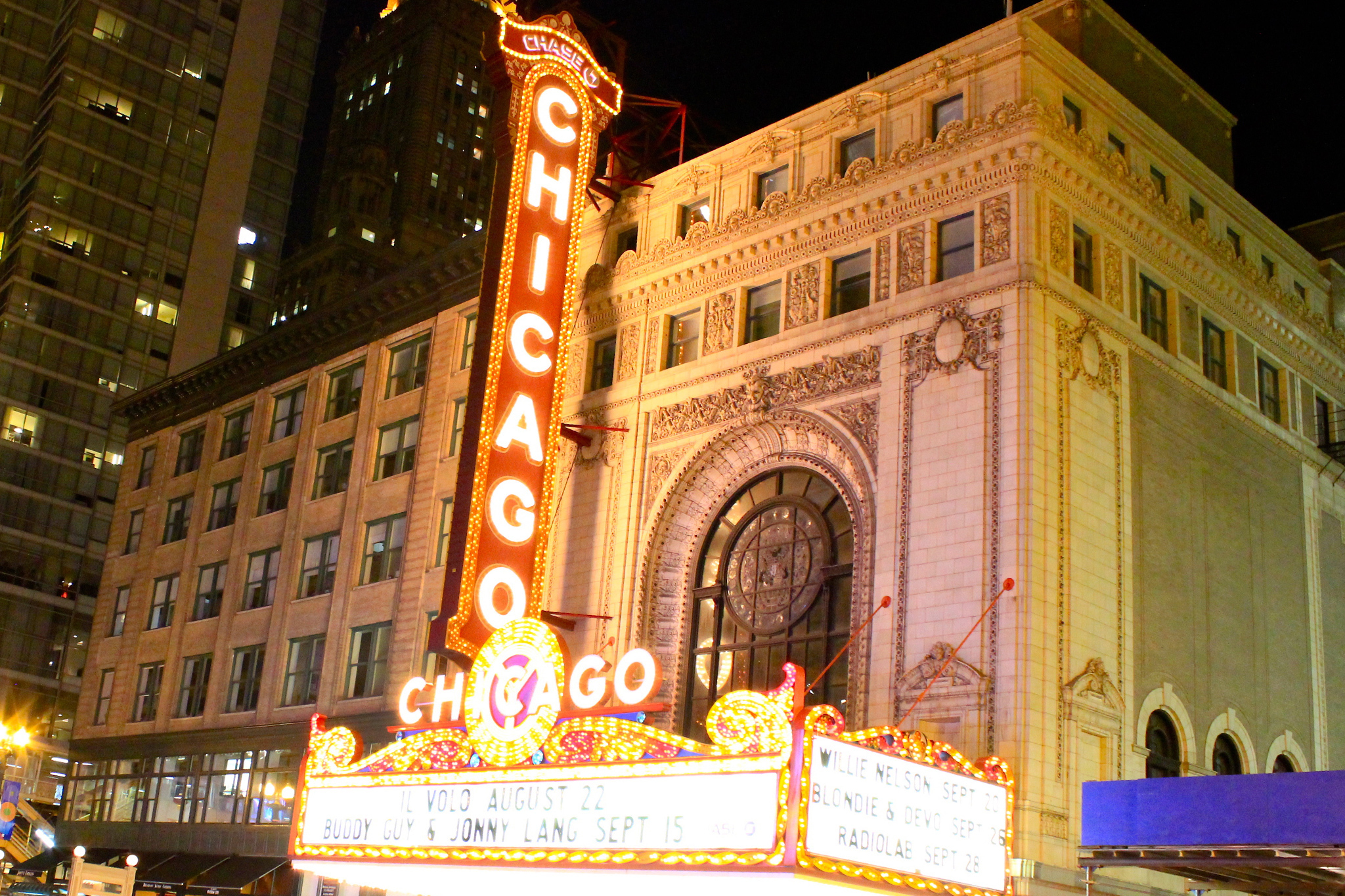 Chicago theater in the Loop