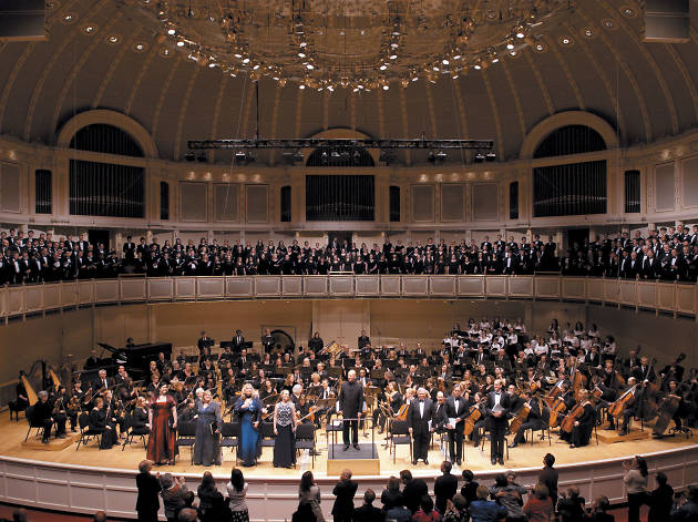 Hear the orchestra at Symphony Center