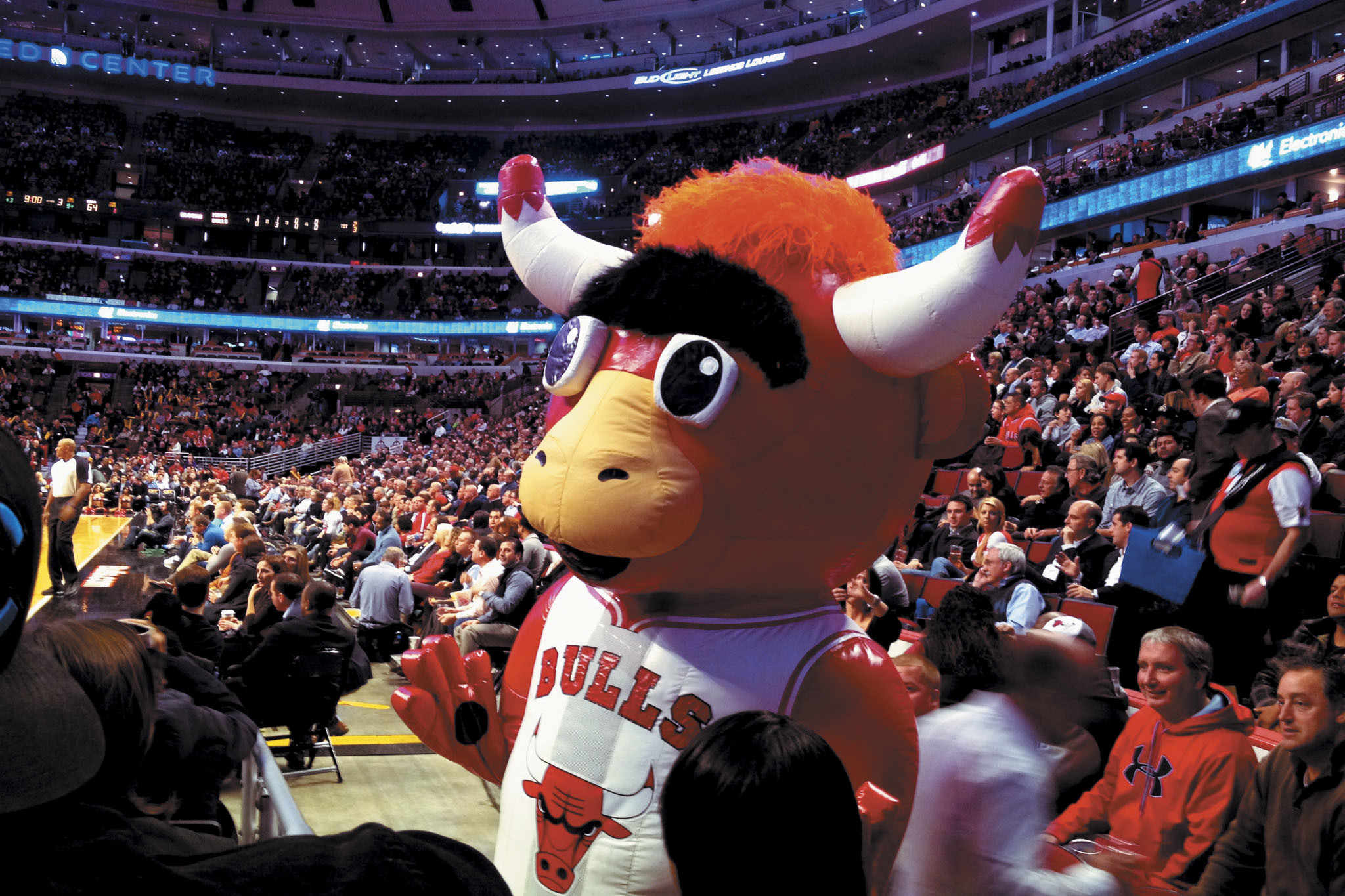 Catch a Bulls game at United Center.