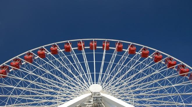 Navy Pier:�Ride the Ferris wheel at Navy Pier.