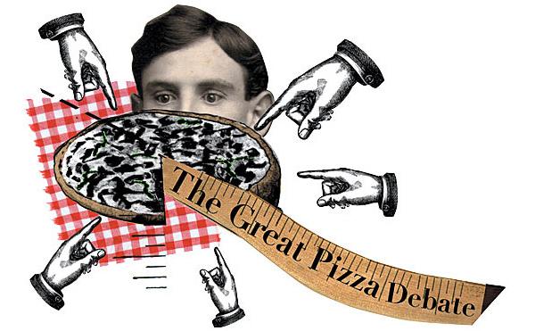 Chicagoans debate thin-crust vs. deep-dish pizza
