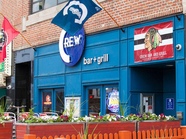 Crew Bar and Grill