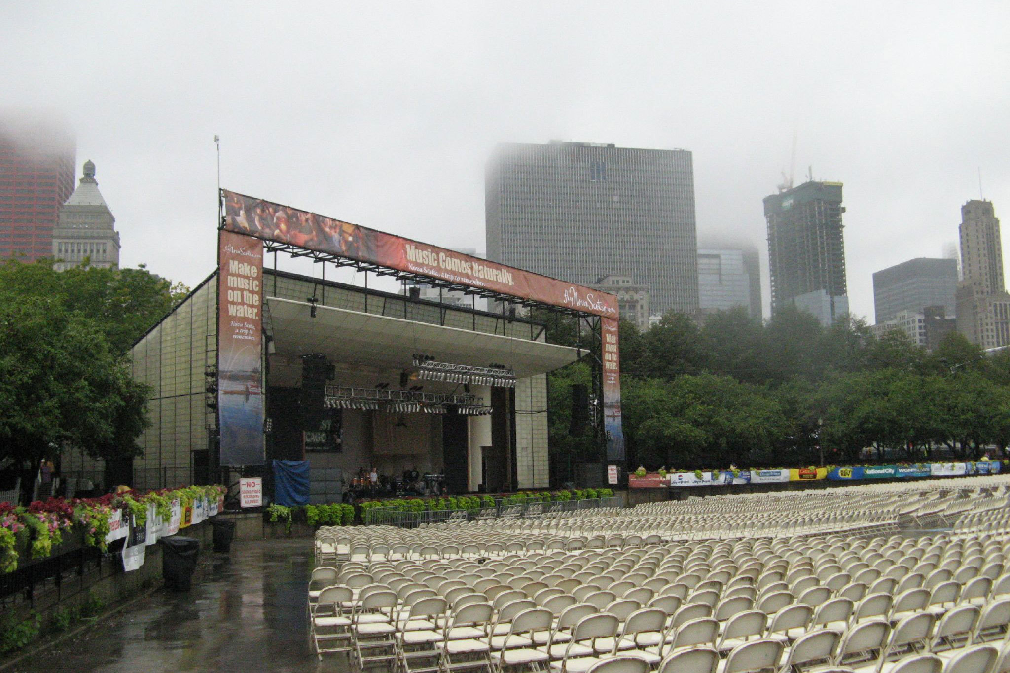 Grant Park, Petrillo Music Shell