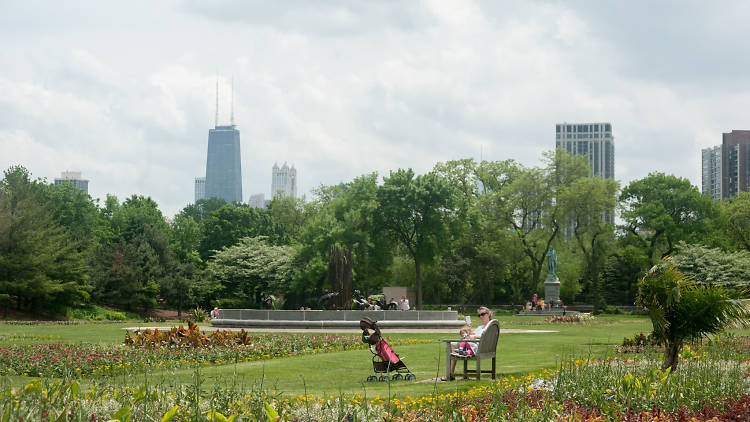 The most beautiful parks in Chicago