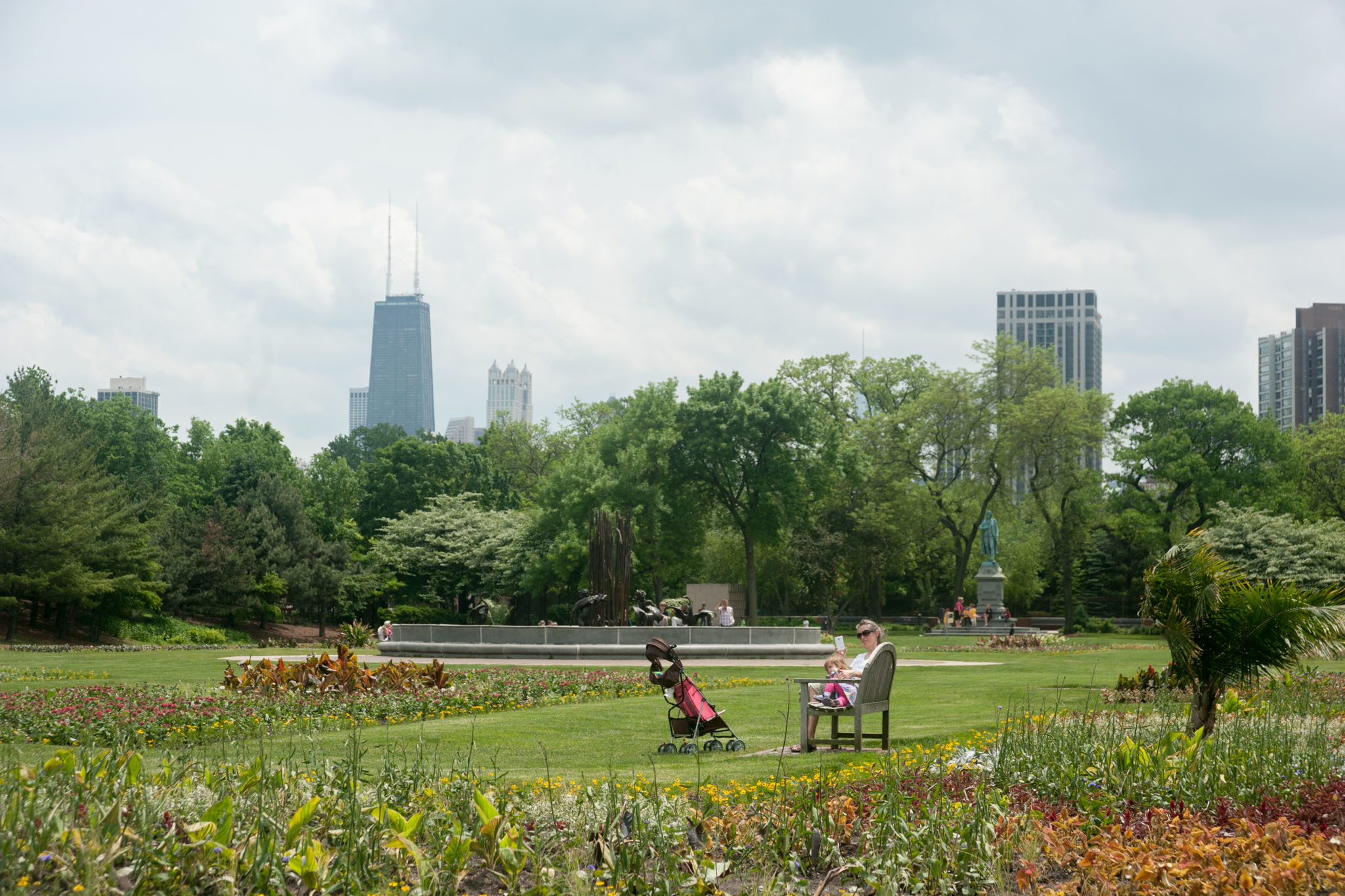 Explore a Chicago park