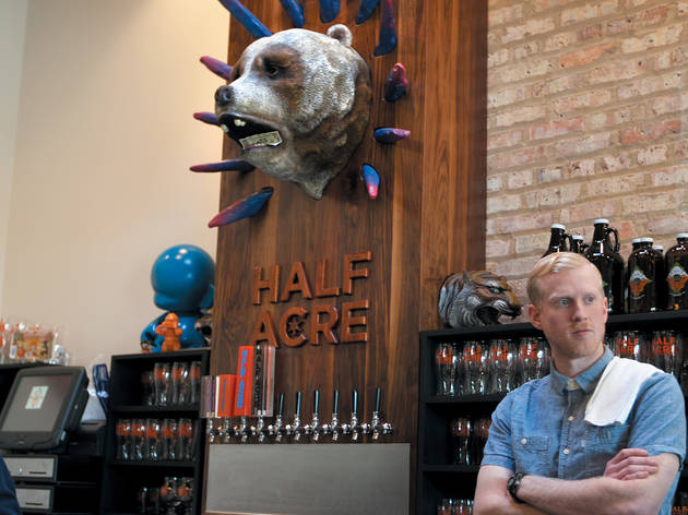 Half Acre Tap Room New Year's Celebration