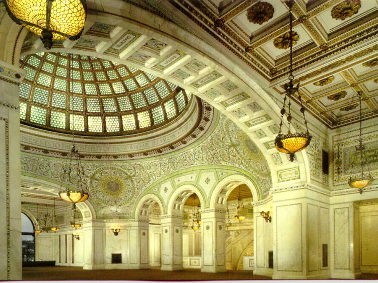 Chicago Cultural Center, 78 E Washington St