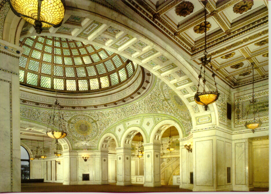 Chicago Cultural Center, 78 E Washington St