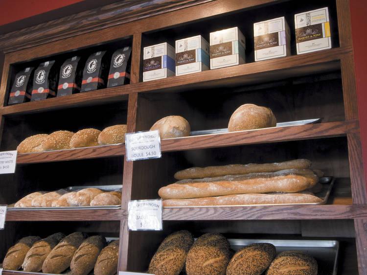Bread baking at Baker & Nosh